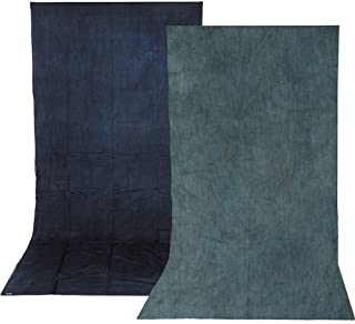 Impact Reversible Muslin Background (10 x 12', Sky Blue/Aqua)