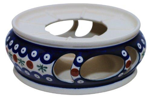 Bunzlauer Keramik Stövchen Ø18.5 cm ideal für Suppenterrinen und Töpfe im Dekor 41