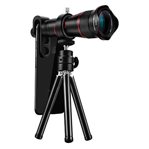 WQYRLJ HD Mobiele Telefoon Telescoop 4K 22X Zoom Telelens Externe Smartphone Camera Lenzen voor iPhone Samsung Huawei