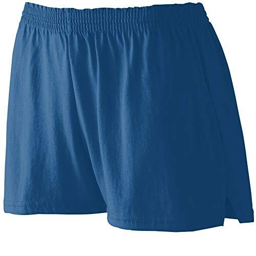 Augusta Sportswear Girls Jersey Shorts M Navy