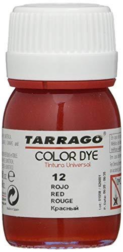 Tarrago Color Dye 25ml, Zapatos y Bolsos Unisex Adulto, Rojo (Red 12), 46 EU