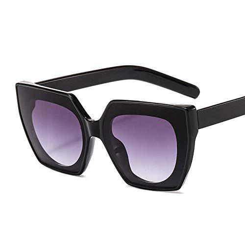 chuanglanja Gafas De Sol Vogue Mujer Gafas De Sol De Ojos De Gato Gafas De Sol Gafas Cuadradas Gafas De Sol Versátiles Personalizadas UV400-Color-N