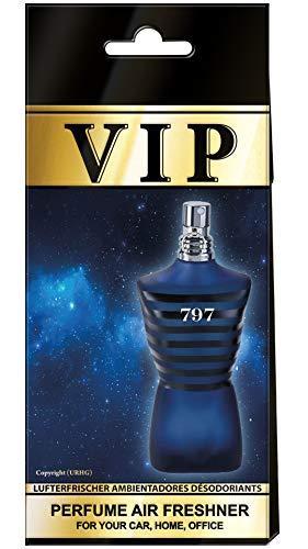 3X Caribi VIP Auto Lufterfrischer Parfüm HEIM BÜRO Duft ähnlich wie teures Parfüm - №797