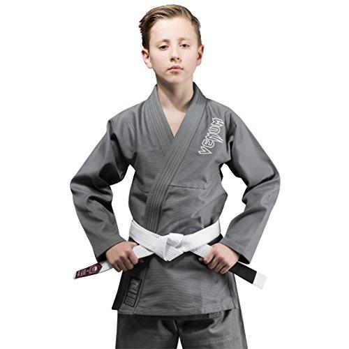 Venum Contender Kimono, Unisex niños, Gris, L/C2
