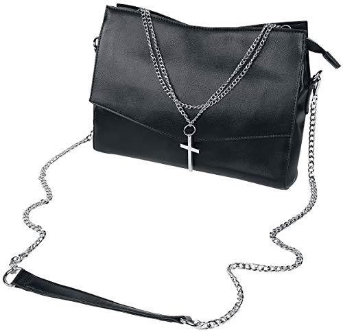 Banned Alternative Nether Frauen Handtasche schwarz Polyurethan, Polyester Gothic, Rockwear