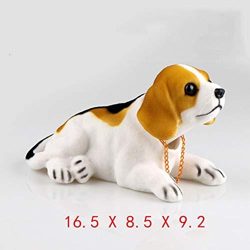 NCUIXZH Auto schüttelte seinen Kopf Hund Puppe Autozubehör Möbelzubehör, für DS, 5LS, DS3, DS4, DS5, DS6 Serie Modelle 1992-2021