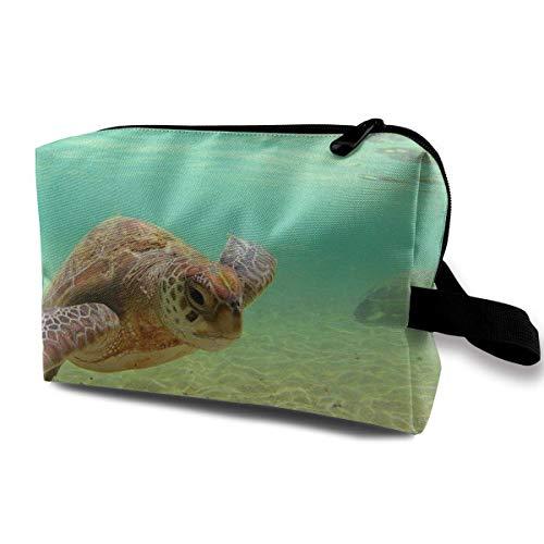 Lord Howe Island Sea Turtle Bolsa de cosméticos Bolsas de m