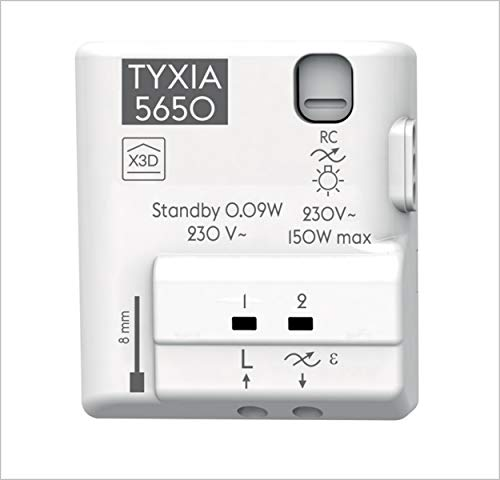 Delta Dore 6351414 Micromódulo Receptor, Blanco