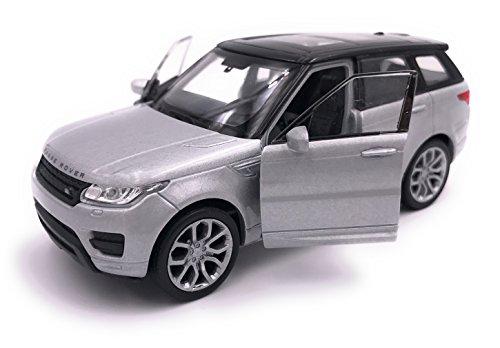 H-Customs Range Rover Sport Modellauto Auto Lizenzprodukt 1:34-1:39 / Silber