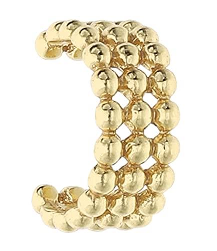 SIX Verspielter Earcuff aus 925er Silber für Damen (619-640)