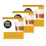 Nescafè - Dolce Gusto Latte Macchiato 16 Capsule, 8 porzioni (3 Pacchi)