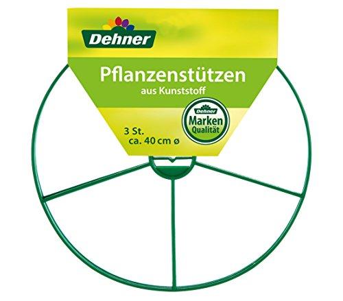 Dehner 2692242 Tuteur Rond en 3 Parties Diamètre 40 cm