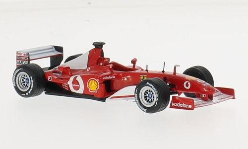 Ferrari F2002, No.1, Vodafone, Formel 1, 0, Modellauto, Fertigmodell, SpecialC.-45 1:43