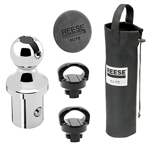 """Reese 30888 Elite-Series Under-Bed Gooseneck Accessories Kit for Dodge RAM with Factory Rails - 2-5/16"""" Ball"""