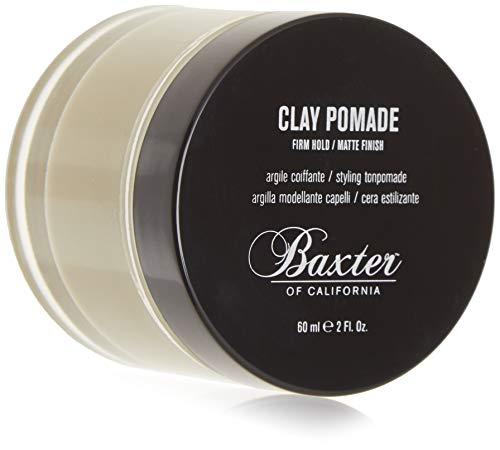 Baxter of California Clay Pomade, Matte Finish/Strong Hold, Hair Pomade for...