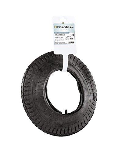 HAEMMERLIN Band + binnenband voor kruiwagen - Ø 400 mm aanpasbaar Ø 380 mm