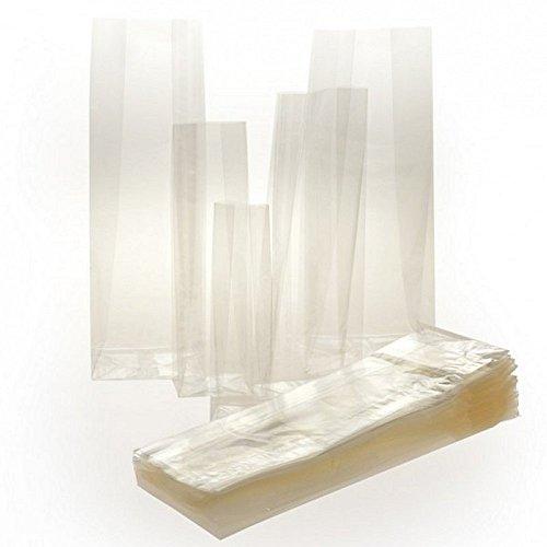 PNP 100 buste trasparenti crystal