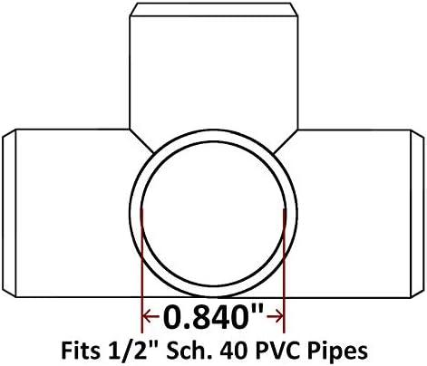 6 way pvc connector _image0