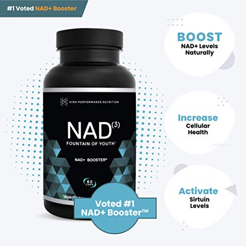 41upYdcbWLL - HPN NAD+ Booster – Nicotinamide Riboside Alternative (NAD3) for Men & Women | Anti Aging NRF2 Activator, Superior to NADH – Natural Energy Supplement for Longevity & Cellular Health, 60 Veggie Pills