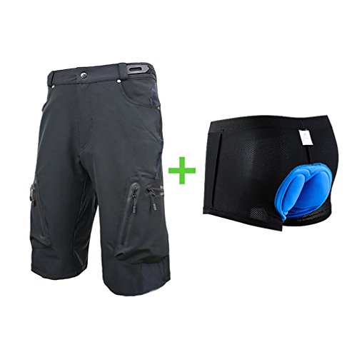Blike Men's Outdoor Sports MTB Cycling Shorts with padded