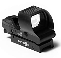 ✔ TACTICON IS A COMBAT VETERAN OWNED COMPANY ✔ STURDIEST AND MOST ACCURATE REFLEX SIGHT ON AMAZON - Incredibly fast target acquisition with the parallax free design. Incredibly easy to sight-in. Holds zero even after thousand of shots. ✔ 4 ADJUSTABLE...