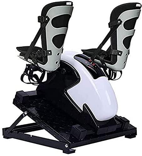 NBLD Máquina Bicicleta estática Plegable Ciclo de Escritorio de bajo Impacto Oficina Fitness Pedal Plegable de Lujo Ejercitador Vendedora de Ejercicios Máquina de piernas Vendedora de Brazos y pi