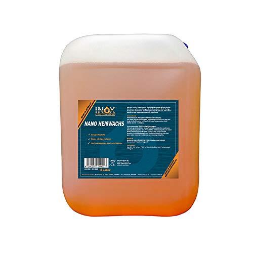 INOX® Nano Heißwachs Konzentrat, 5 Liter – Sprühwachs für Waschstraßen und Waschanlagen, Autowäsche & Lackpflege