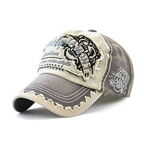 Gorra de béisbol Parche Sombrero Bordado con Letras Gorra de algodón Informal de Moda Gorra de Sol para Deportes al Aire Libre para Hombres y Mujeres Sombrero Ajustable