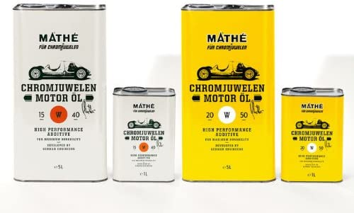 MathÉ Chromjuwelen Motor Öl 20w 50 6 Liter 5 1 Liter Auto