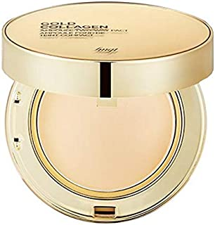 The Face Shop FMGT. B. Gold Collagen Ampoule Two-way Pact, 201 Bright Tone, 1 g