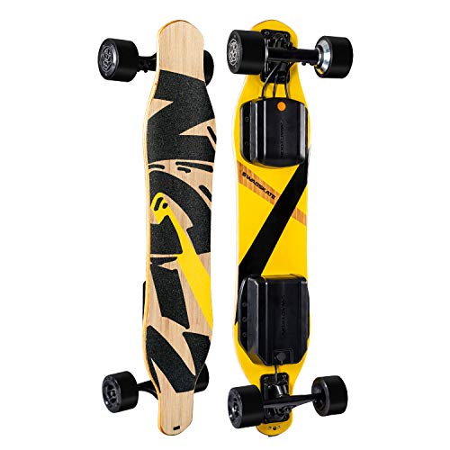 "Find Discount SWAGSKATE NG2 38"" A.I. Powered Electric Longboard Skateboard Hands-Free or Remote Co..."