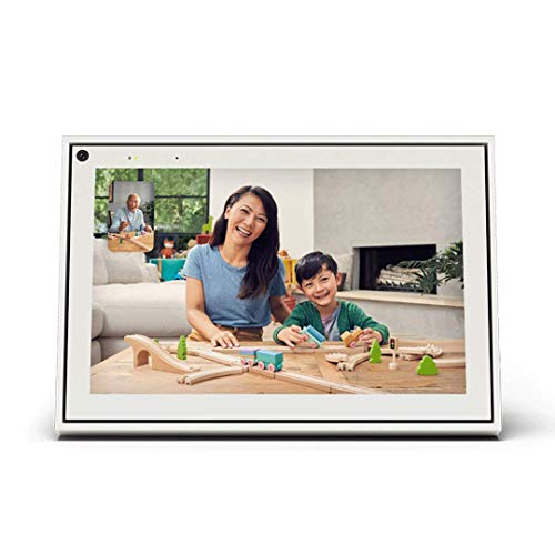 """Portal White 10"""" from Facebook. Smart, Hands-Free Video Calling with Alexa Built-in"""
