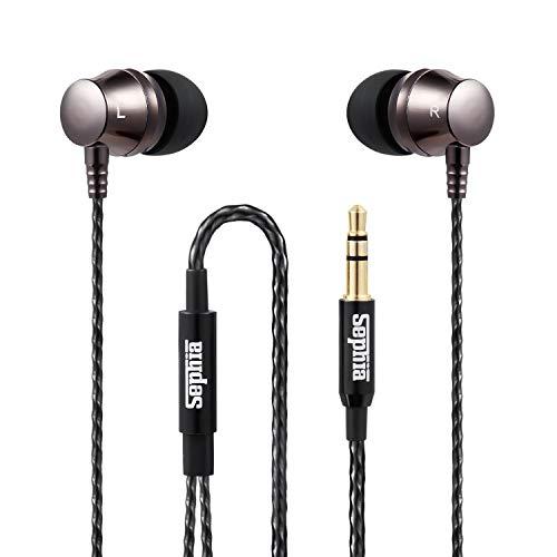 Sephia SP9090 Earbuds, Noise Isolating Earphone Earbud Tips, Bass...