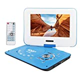 "Smyidel 10.8"" Portable DVD Player Supports SD Card/USB Port/CD/DVD, Remote Controller,2 Hour Rechargeable"