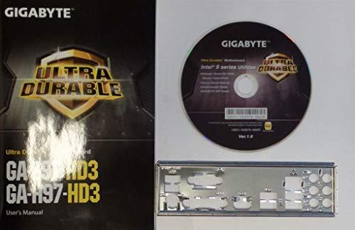 GIGABYTE GA-Z97-HD3/GA-H97-HD3 Handbuch - Blende - Treiber CD