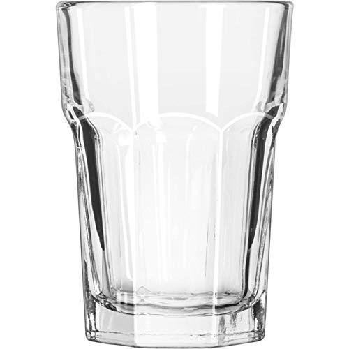Libbey 12 x Wasserglas, Trinkglas, Glas, transparent, 35 cl, Ø 8.5 cm, Höhe: 12.1 cm
