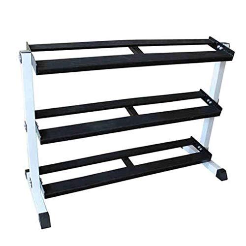 Hantelständer Hantelablage Hantel Racks Saddle Rac DREI-Schicht Haushalts Stahl Kettle Rack-Gewerbe Hantel Storage Rack