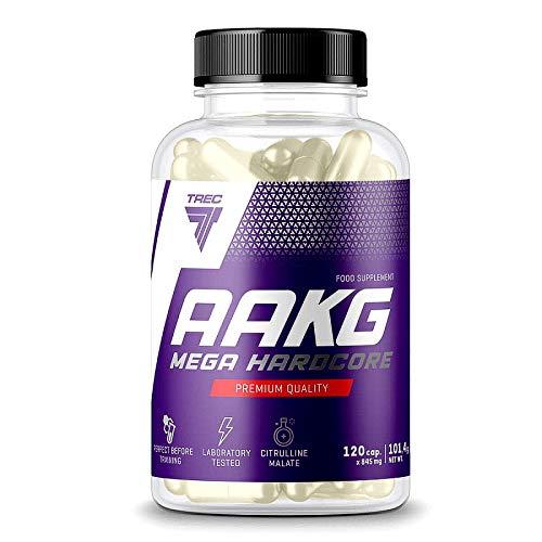 Trec Nutrition AAKG Mega Hardcore con citrulina malato (120 tappi)