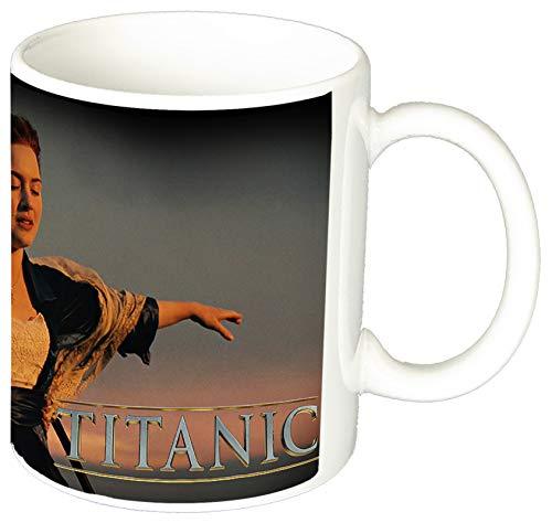 MasTazas Titanic Leonardo Dicaprio Kate Winslet B Taza Ceramica