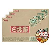 エースコック カップ麺 北海道限定 ラーメン 大吉 カップラーメン 醤油 ラーメン 12食入 4ケース(4箱) カップめん だいきち かっぷめん