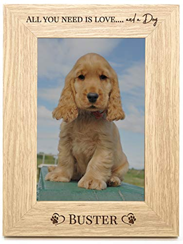 Personalised Dog Photo Frame