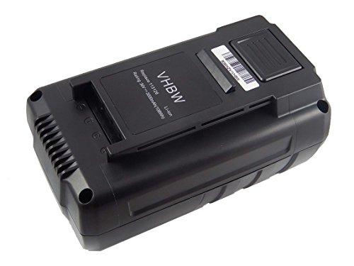 vhbw batería Compatible con AL-KO 38.4 Li, 38.4LI, Comfort 38.4 Li DC-3630LI, CS 4030 cortacésped Robot cortacésped (3000mAh, 36V, Li-Ion)