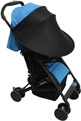 Parasol universal para cochecito de bebé, ajustable, antirayos UV, transpirable, toldo, toldo, toldo, extensor de parasol