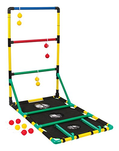 Go! Gater Ladderball, Bean Bag Toss and Washer Toss Set; Three Great Games in One for All Ages and Skill Sets; Enjoy Entertainment Anywhere with Easy Assembly for Family Fun