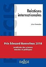 Relations internationales - Nouveauté de Julian Fernandez