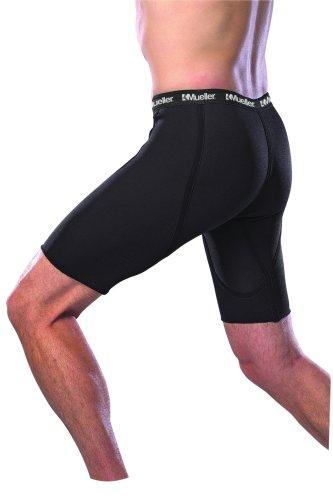 Mueller Neopren-Shorts, schwarz, L