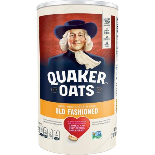Quaker Oats Heart Healthy Old Fashioned Oats  42oz Pack of 2