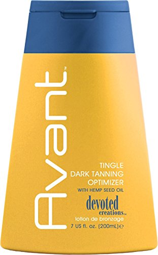 2010 Devoted Creations Avant Tingle Dark Tanning Optimizer Tanning Lotion 7 oz