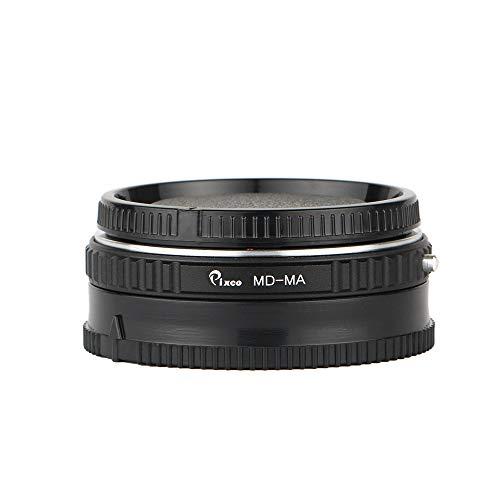 Pixco Galss AF - Adaptador de chip de confirmación para lente MD MC - Minolta Sony MA A58 A65 A57 A77 A900 A300 A290 A230 A200 (Minolta MD-Minolta MA (con cristal óptico)