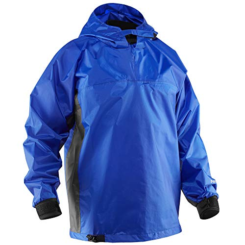 NRS Rio Hooded Paddling Jacket-Blue-S